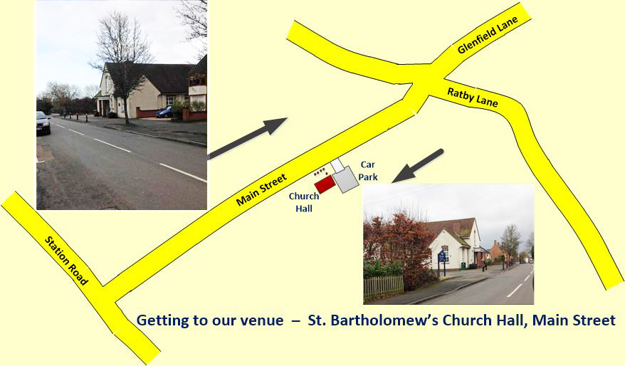 Getting to St. Bart's Church Hall
